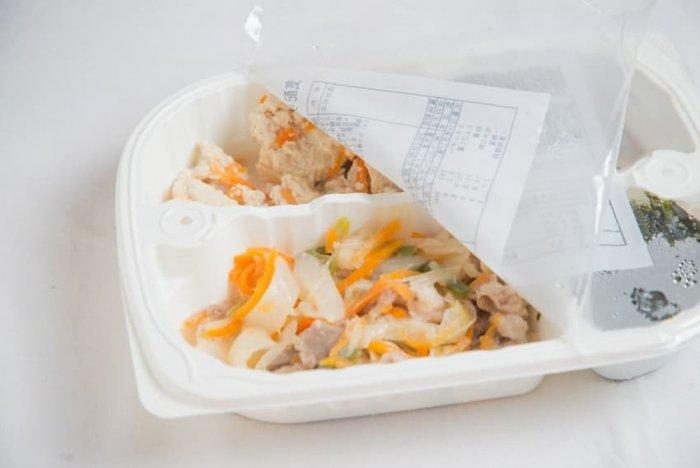 ウェルネスダイニング 豚肉と玉ねぎの味噌炒め6