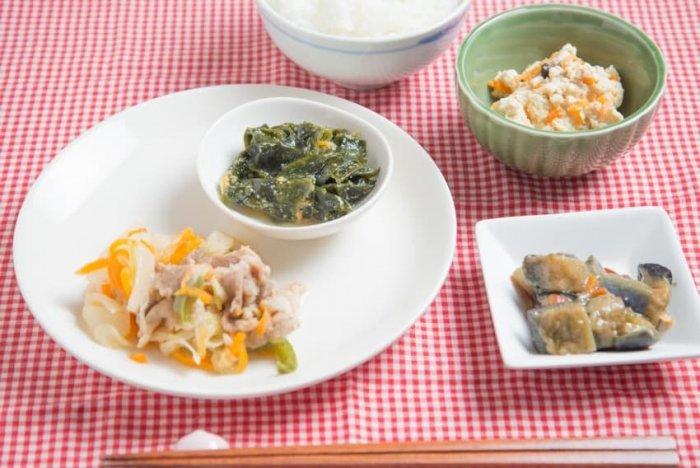 ウェルネスダイニング 豚肉と玉ねぎの味噌炒め20
