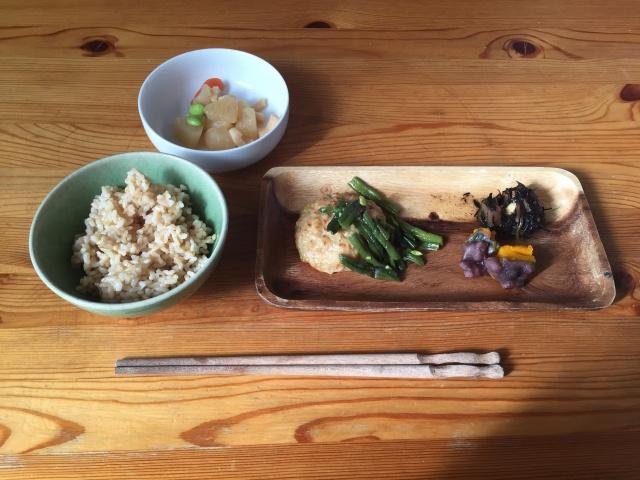 ウェルネスダイニング 豆腐ハンバーグ3