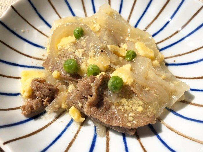 ウェルネスダイニング 牛肉の柳川風6