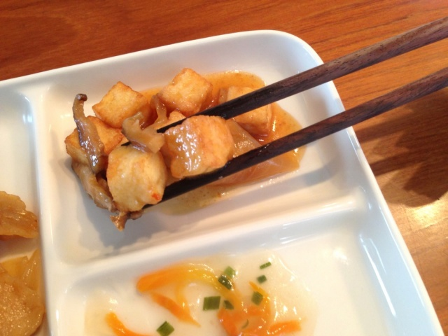 おまかせ健康三彩 ピーナッツ入り酢豚12