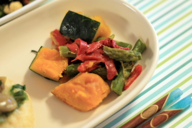 おまかせ健康三彩 豆腐ハンバーグきのこソース6
