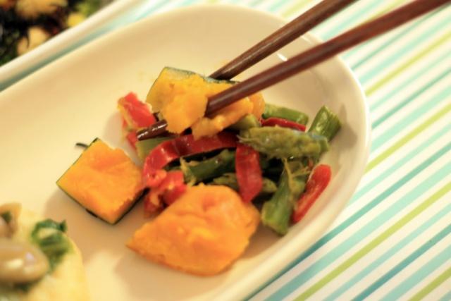 おまかせ健康三彩 豆腐ハンバーグきのこソース7