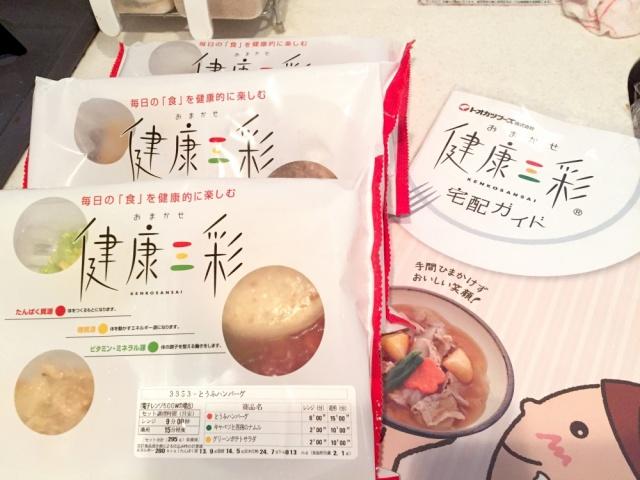 おまかせ健康三彩 豆腐ハンバーグ7
