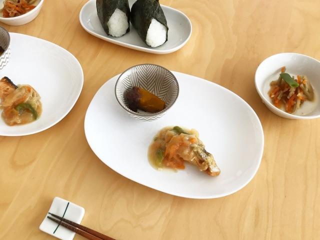 おまかせ健康三彩 鮭のチャンチャン焼き14