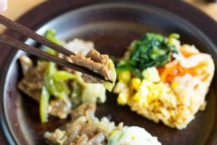 ニチレイフーズ 焼肉と五穀のビビンバ22