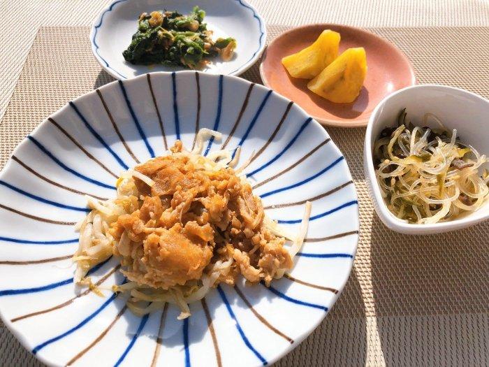 メディカルフードサービス 豚肉のサムジャン炒め6