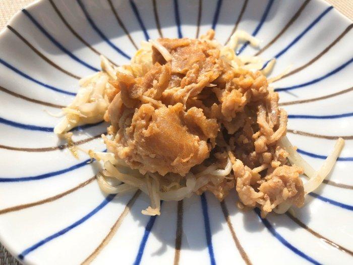 メディカルフードサービス 豚肉のサムジャン炒め8