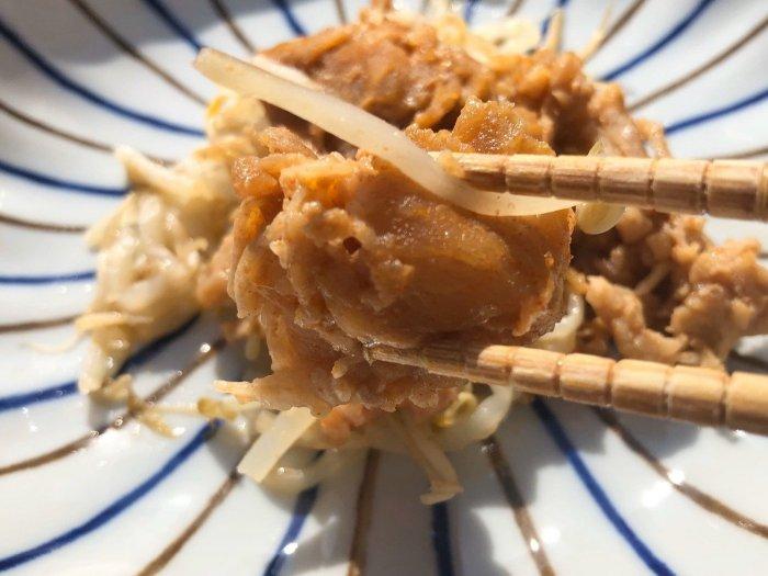 メディカルフードサービス 豚肉のサムジャン炒め9