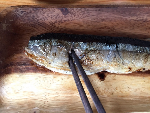 わんまいる 秋刀魚の塩焼き10