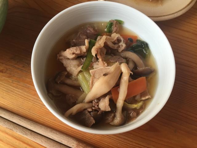 わんまいる 冬野菜のすき焼き風5