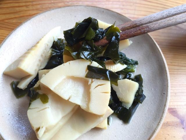 わんまいる 筍とわかめの煮物7
