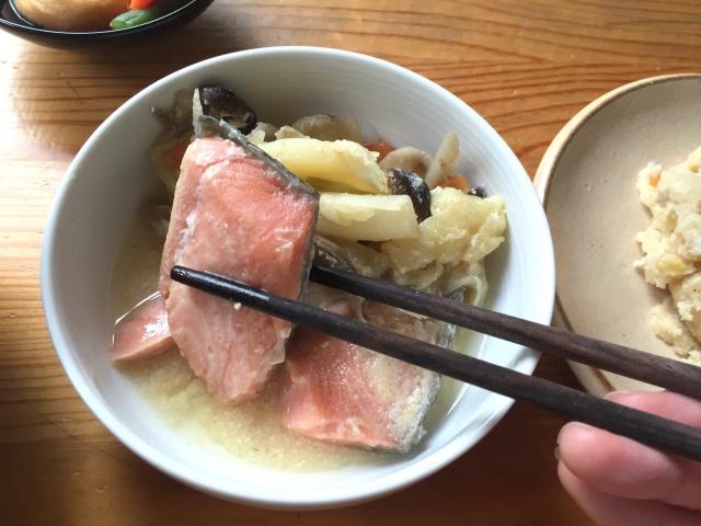 わんまいる 鮭の石狩煮6