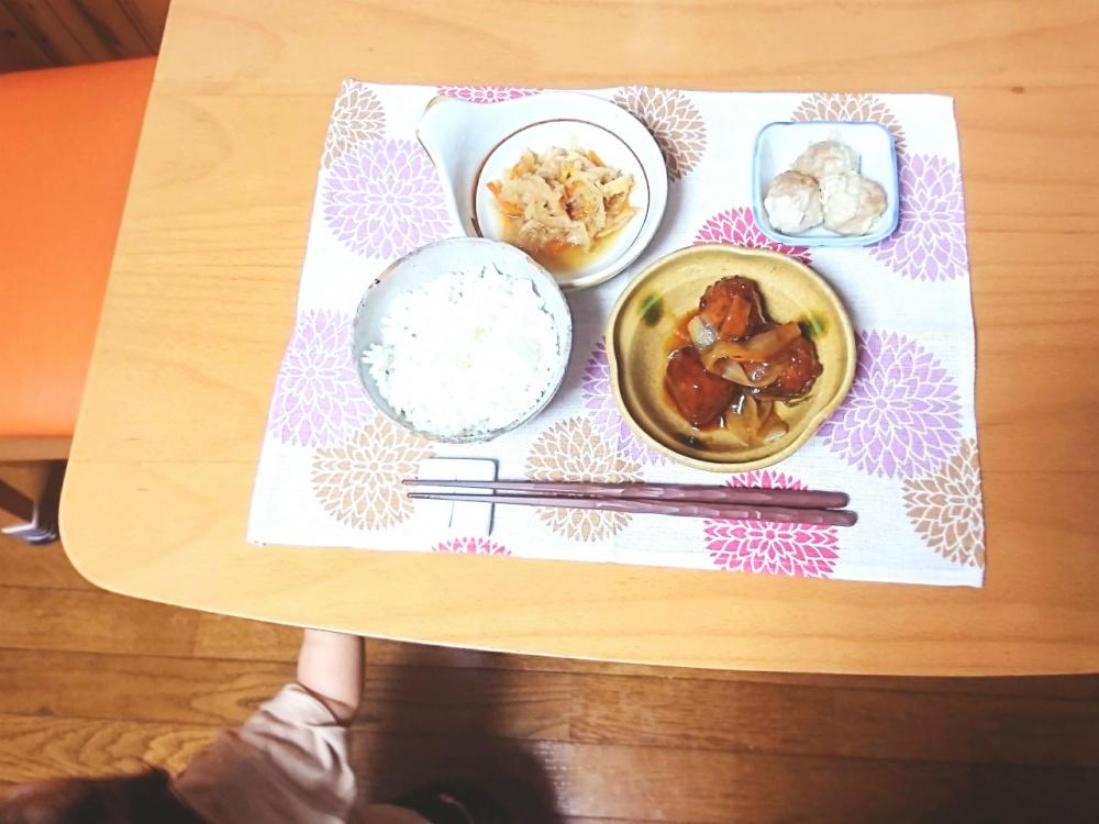 わんまいる 玉ねぎと肉団子の甘酢あんかけ7