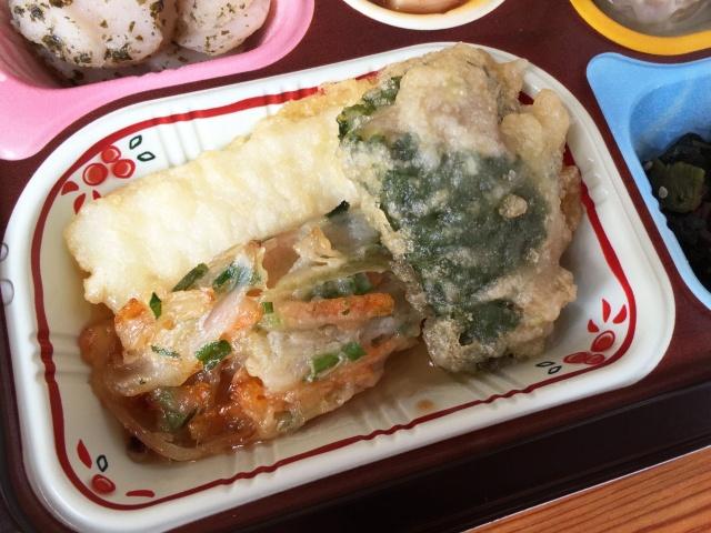 食宅便 魚介天ぷらと野菜のかき揚げ7