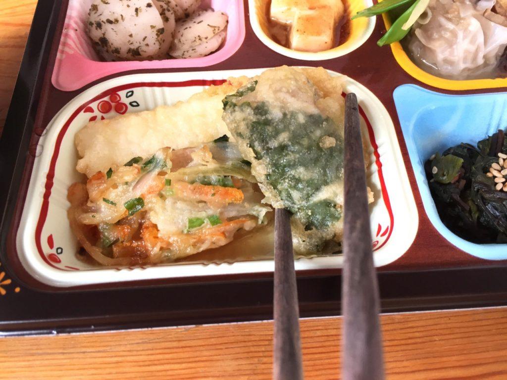 食宅便 魚介天ぷらと野菜のかき揚げ17