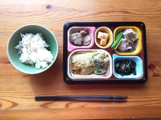 食宅便 魚介天ぷらと野菜のかき揚げ21