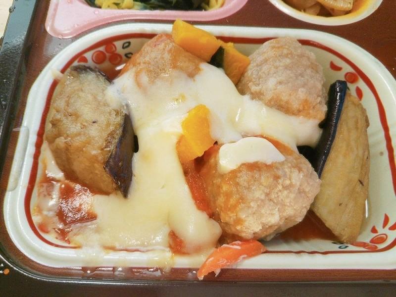 食宅便 肉団子と野菜のトマト煮6