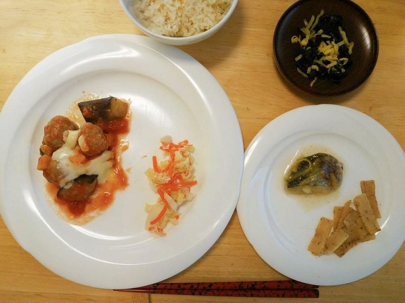 食宅便 肉団子と野菜のトマト煮7