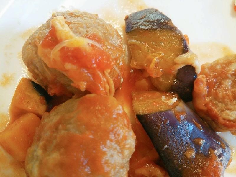 食宅便 肉団子と野菜のトマト煮8