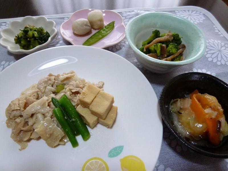 食宅便 豚肉と高野豆腐の煮物30