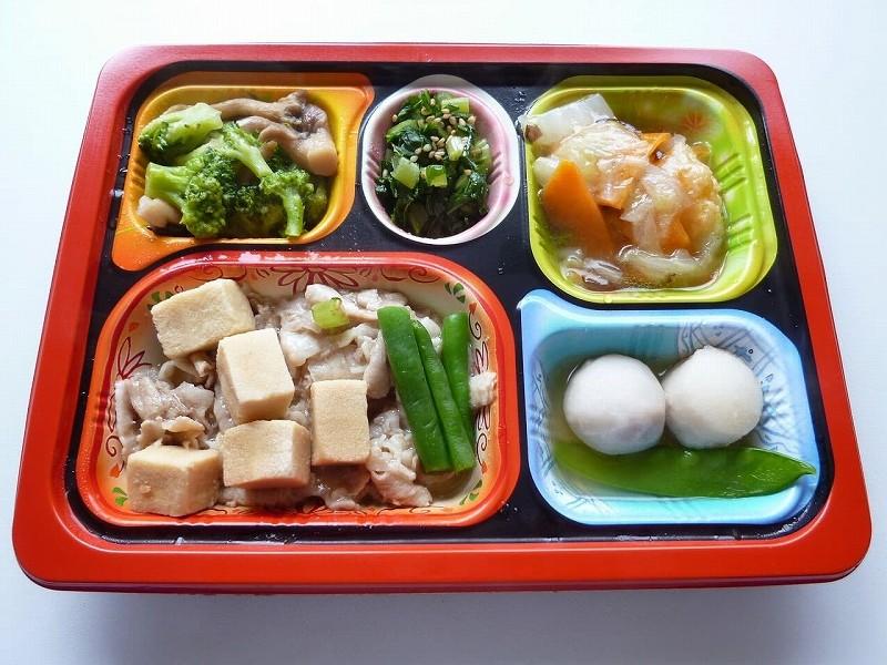 食宅便 豚肉と高野豆腐の煮物31
