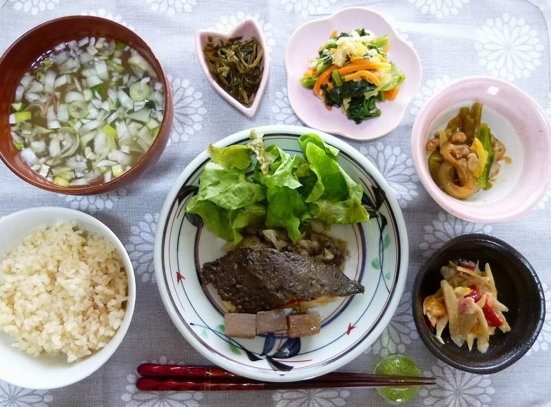 食宅便 鰺(あじ)の胡麻味噌焼き9