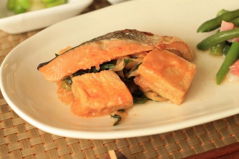 食宅便 鮭の豆乳チゲ12
