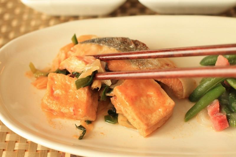 食宅便 鮭の豆乳チゲ16