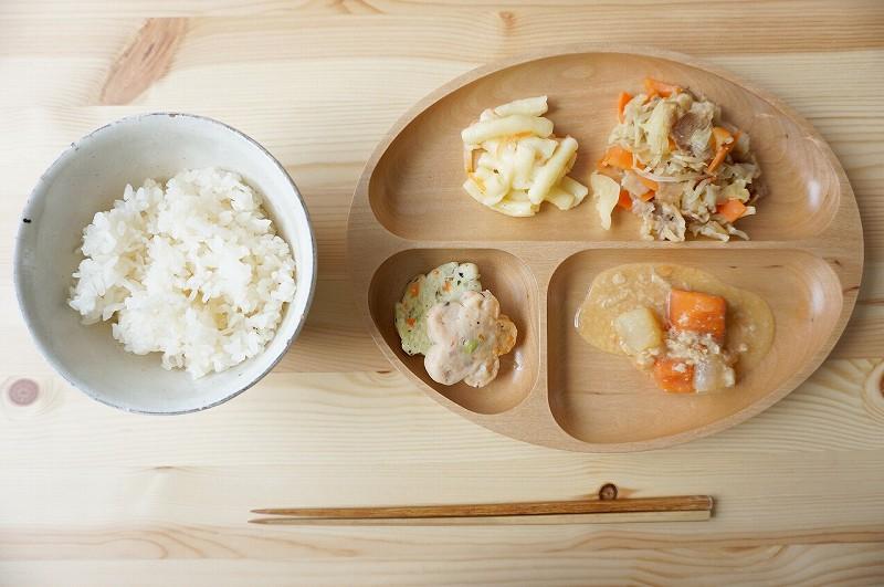 ウェルネスダイニング 野菜と豚肉のカレー炒め5