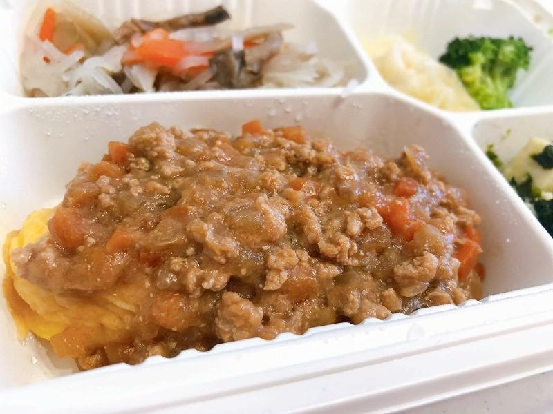 ウェルネスダイニング 肉味噌オムレツ5