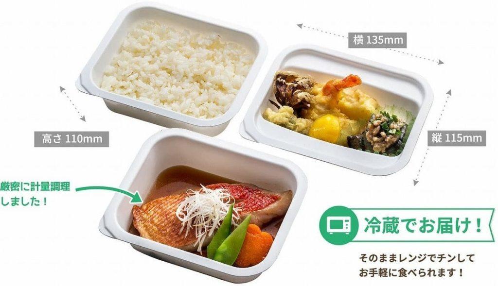 メディカルフードサービス 食事宅配3